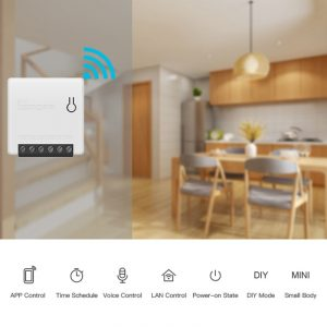 For Sonoff Smart Home For Alexa Google Home Mini DIY WiFi Automation Smart House Switch Switch Remote Control Domotica